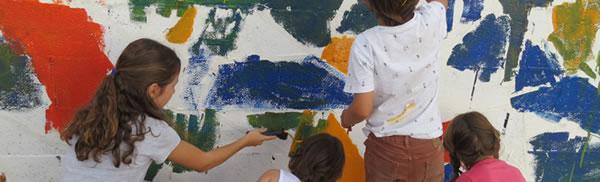 Taller graffiti familias
